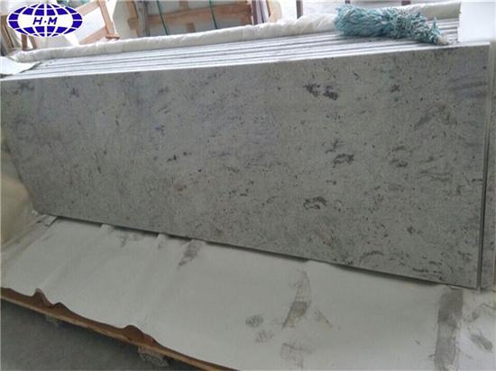 Prefab River White Granite Worktops, Granite Kitchen Countertop