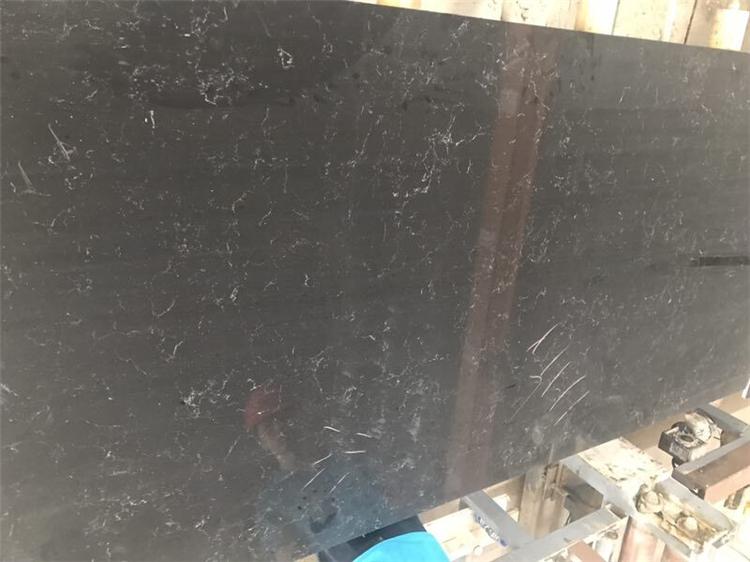 Black Artificial Quartz Factory Quartz Countertop With