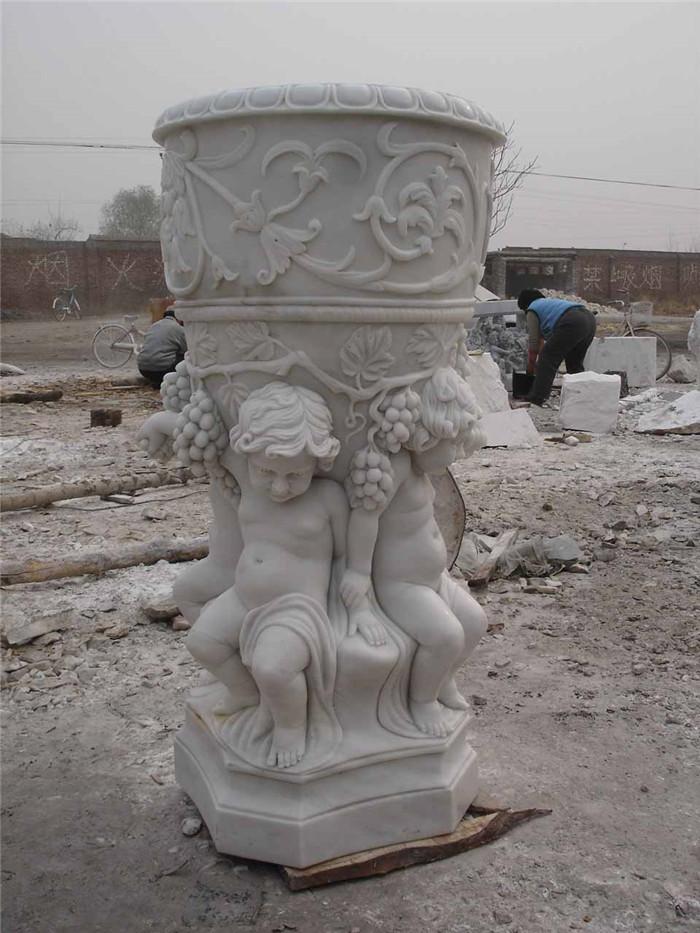 Cast Stone Garden Urn Planters Large Stone Plant Pots