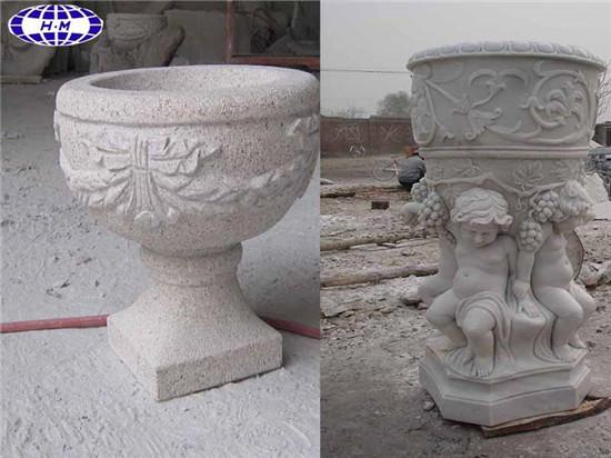 Cast Stone Garden Urn Planters Large, Garden Urns Planters