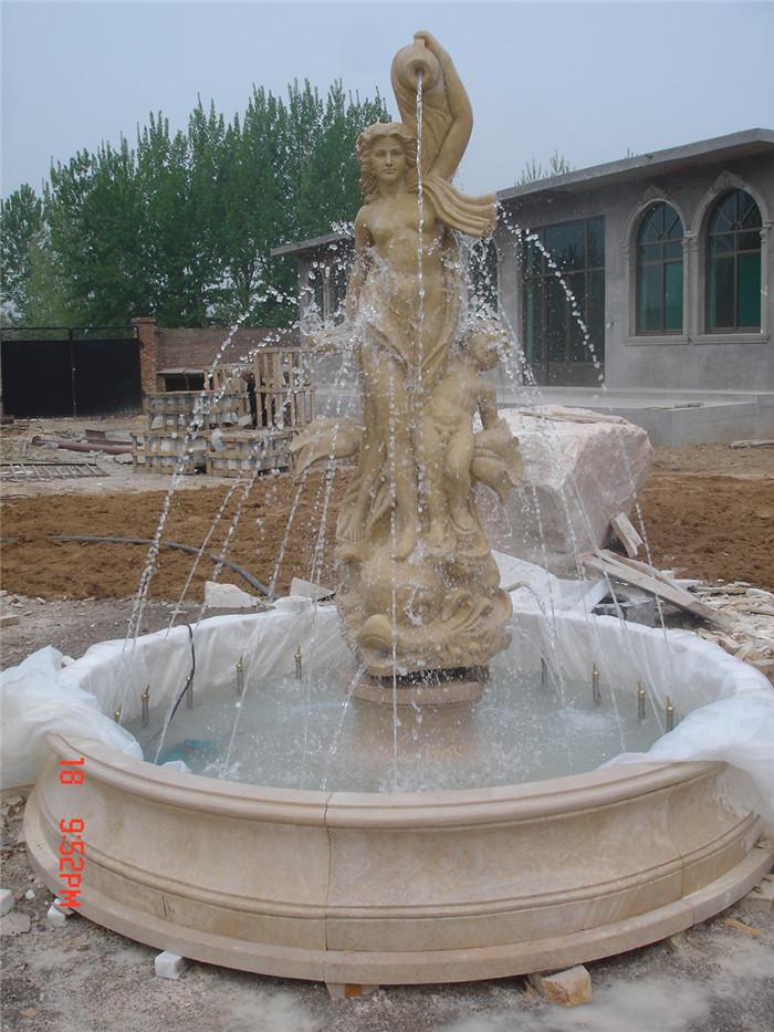 Marble Garden Fountain Manufacturer Outdoor Marble Water