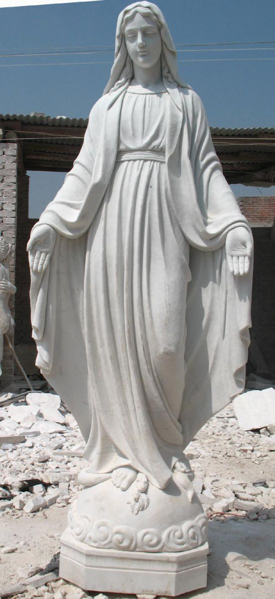 Marble Jesus Christus Statue Supplier Mary With Baby