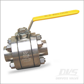 杠杆操作F304球阀,CL600, SW,承插焊接