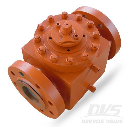 一件顶部进口球阀,ASTM A105, 4英寸,1500磅,法兰