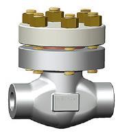 螺栓帽A105N止回阀,CL2500,1英寸,插座/对接焊接