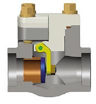 锻钢旋启式止回阀,A105N, 1英寸,800级,BS 5352