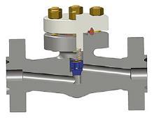 整体法兰活塞止回阀,ASTM A105N,1英寸,1500级