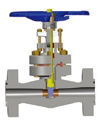 蜗轮驱动闸阀,F316L, 2英寸,高压