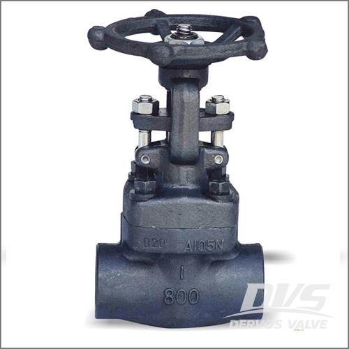 柔性楔形闸阀,ASTM A105N,800 LB,FNPT,FUR端口,OS&Y