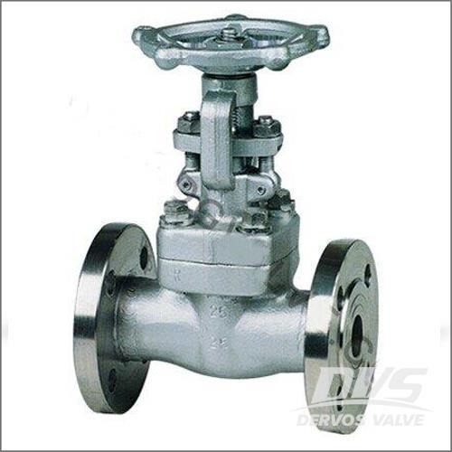 锻造不锈钢闸阀,PN25, F316, RF, DN10-DN100