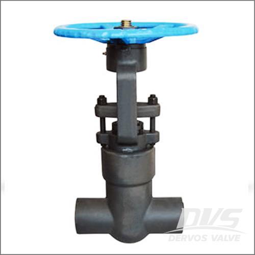 压力密封阀阀阀,ASTM A105N,2500磅,1英寸