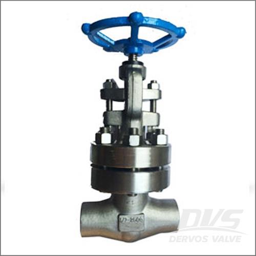 螺栓阀盖锻造截止阀,A182 F304L, 1/2-4 IN, CL1500-2500
