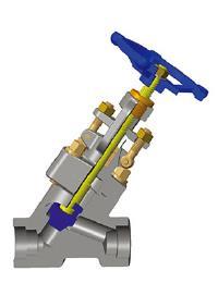 锻造钢Y形阀门,P.S.B.,A105N,1英寸,1500磅
