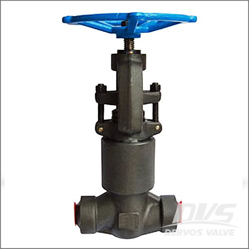 压力密封阀盖截止阀,ASTM A105N, 1500级,1英寸