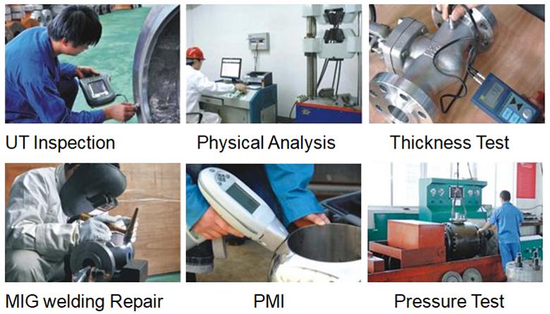 Weldon valves quality control