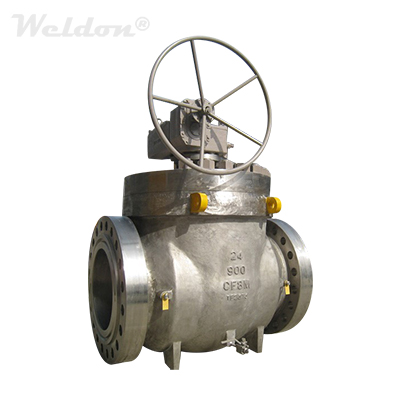 Stainless Steel Top Entry Ball Valve, A351 CF8M, 24 Inch, 900LB, RF