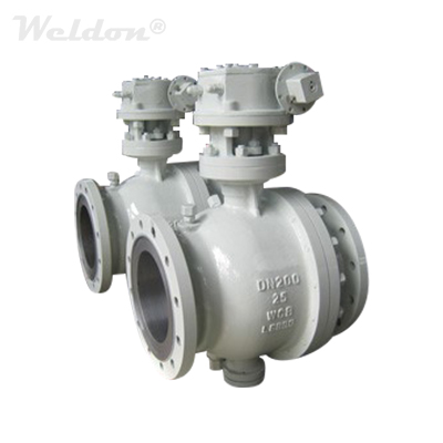 Side Entry Trunnion Mounted Ball Valve, WCB, DN200, PN25, RF
