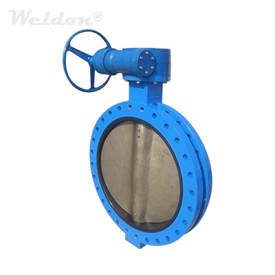 Metal Seat Triple Offset Butterfly Valve, A216 WCB, 16 Inch, 150 LB