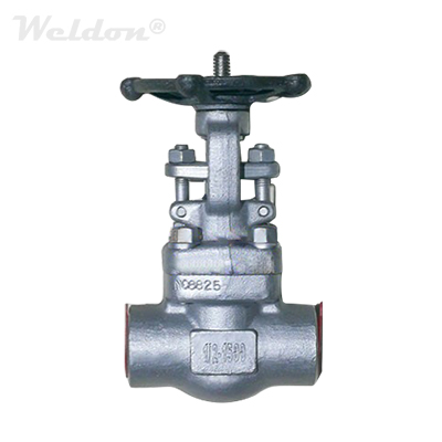 Incoloy 825 UNS NO8825 Gate Valve, 1/2 Inch, 1500 LB, BB, OS&Y, SW