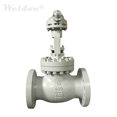 ASTM A352 LCB Globe Valve, 10 Inch, Class 600, OS & Y, Welded Seat