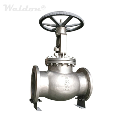 ASTM A995 4A Duplex Stainless Steel Globe Valve, 10 Inch, 150 LB