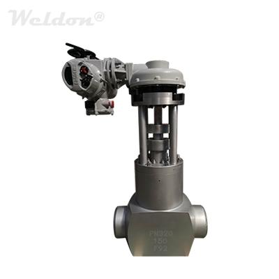 High Pressure Power Plant Gate flip sex toy, A182 F92, DN150, PN320, BW
