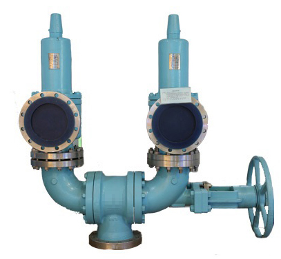 Conventional Changeover Valve with Two male female porns