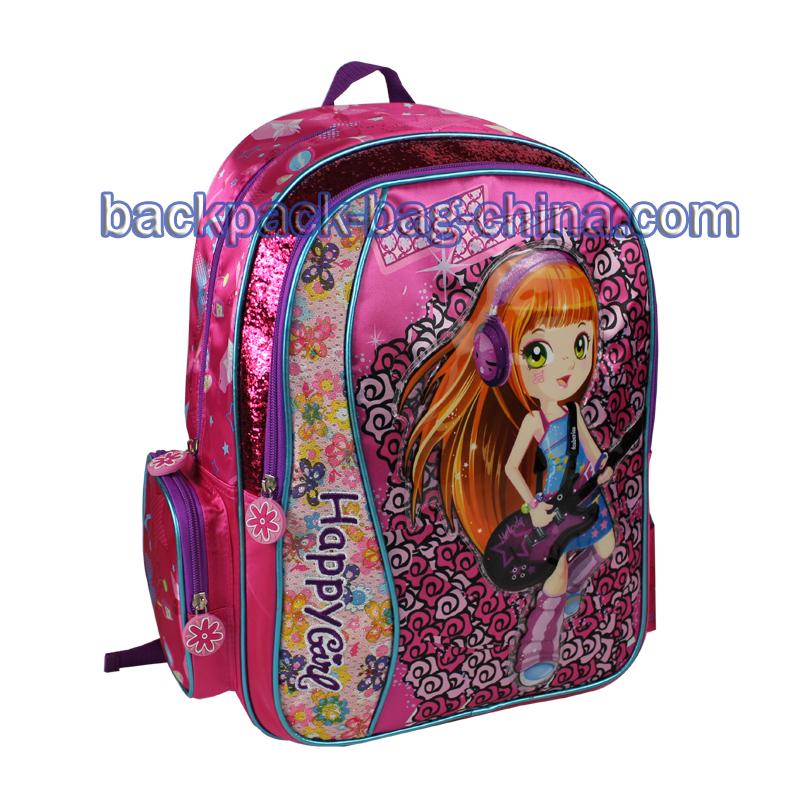 Guitar Kids School Backpacks