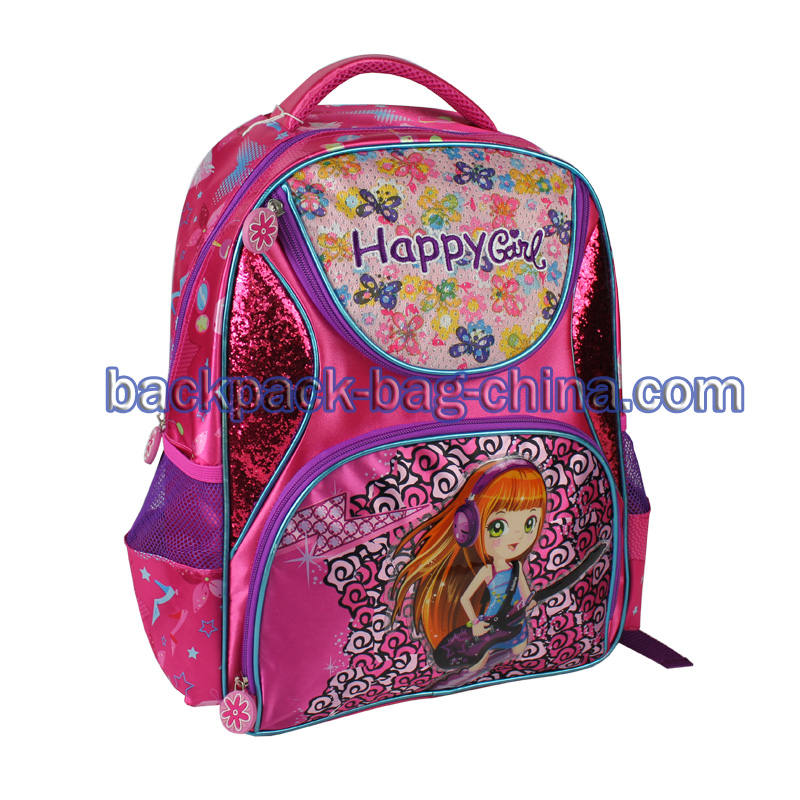 Happy Girl School Bag