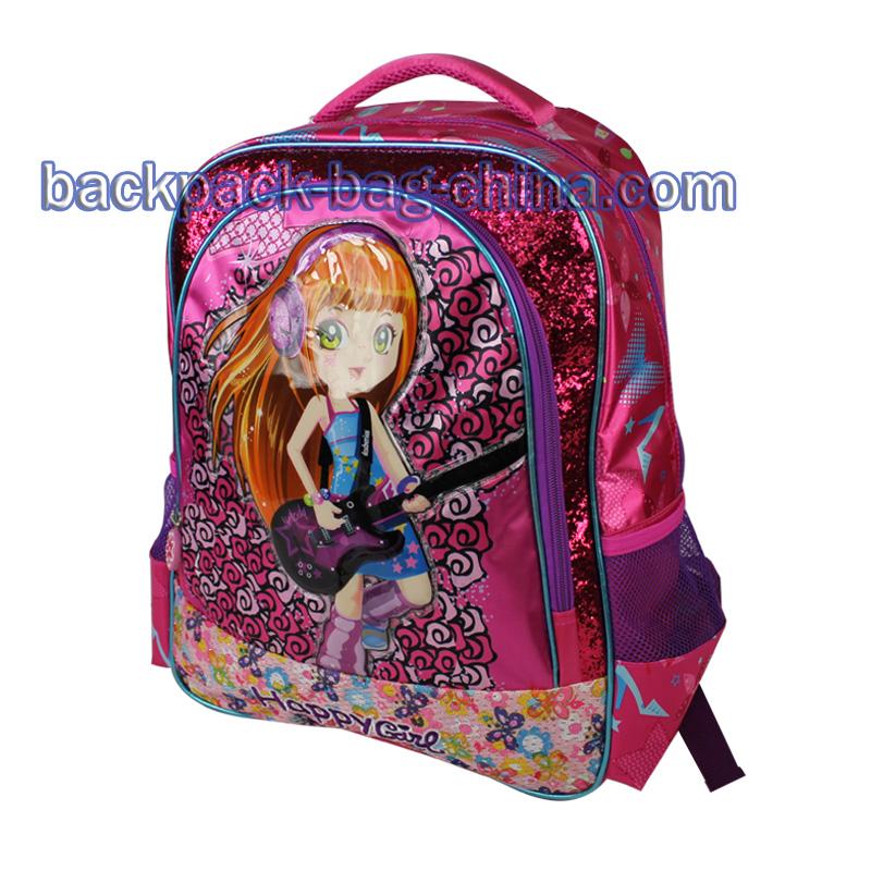 School Little Girl Backpacks