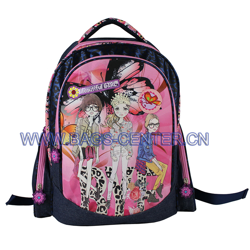 Princess Book Backpacks ST-15BG03BP