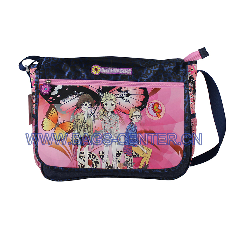 Microfiber Shoulder Bag for Girls ST-15BG06SB