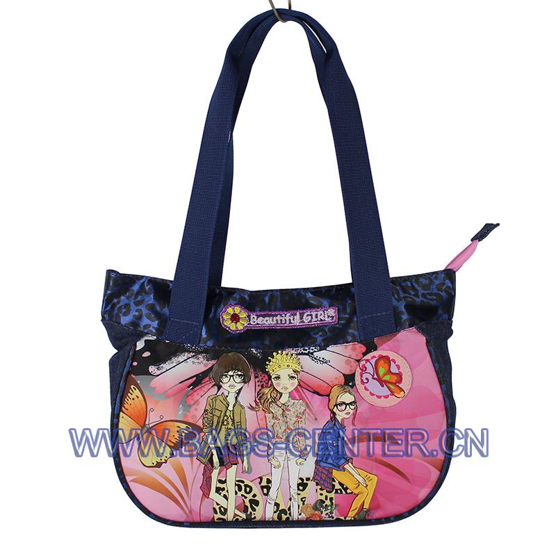 Microfiber Custom Girl Handbags ST-15BG09HB