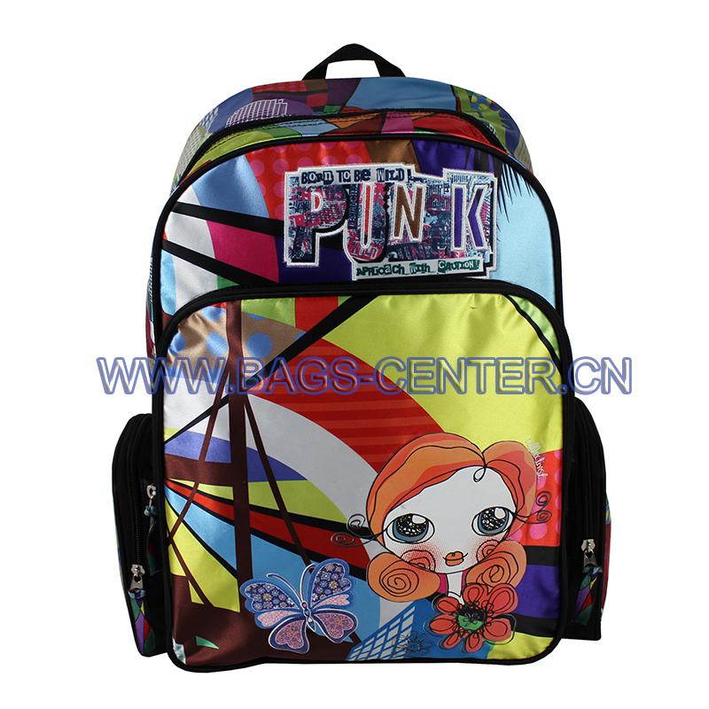 Disney License Satin Backpacks, ST-15BG02BP