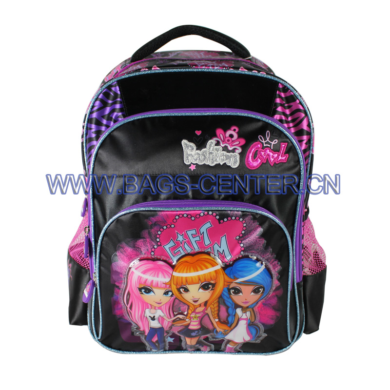 Kid Girls Bookbag ST-15FC05BP