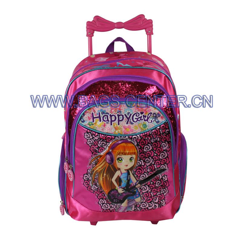 Designer School Trolley Backpack ST-15HG06TR