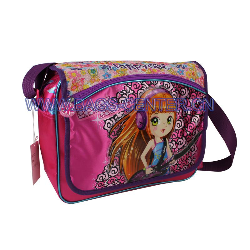 School Shoulder Strap Bag for Girls ST-15HG07SB