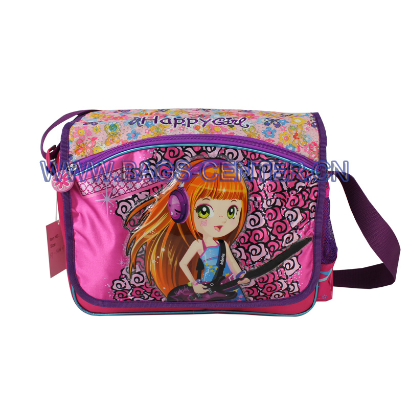 School Shoulder Strap Bag for Girls ST-15HG07SB