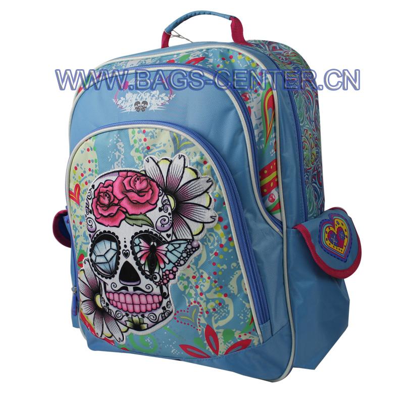 Teen Boys Skull Backpacks ST-15JH01BP
