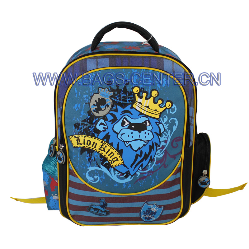 600D School Backpacks ST-15LK01BP