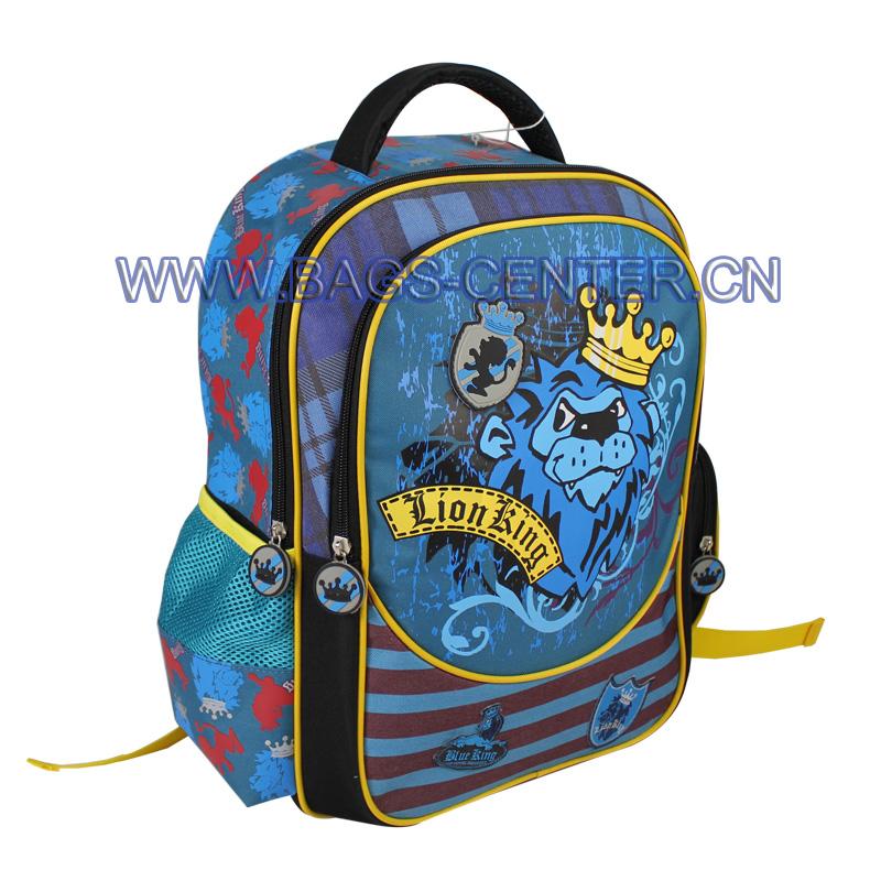 600D School Backpacks ST-15LK01BP