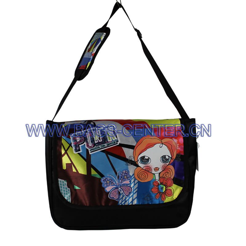 Satin Shoulder Bag for Girls ST-15TR05SB
