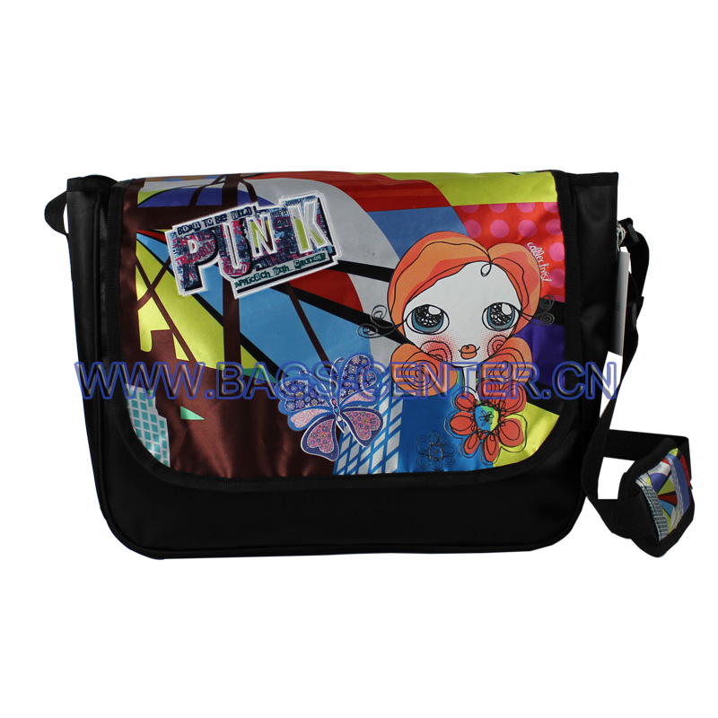 Satin Shoulder Bag for Girls ST-15TR05SB
