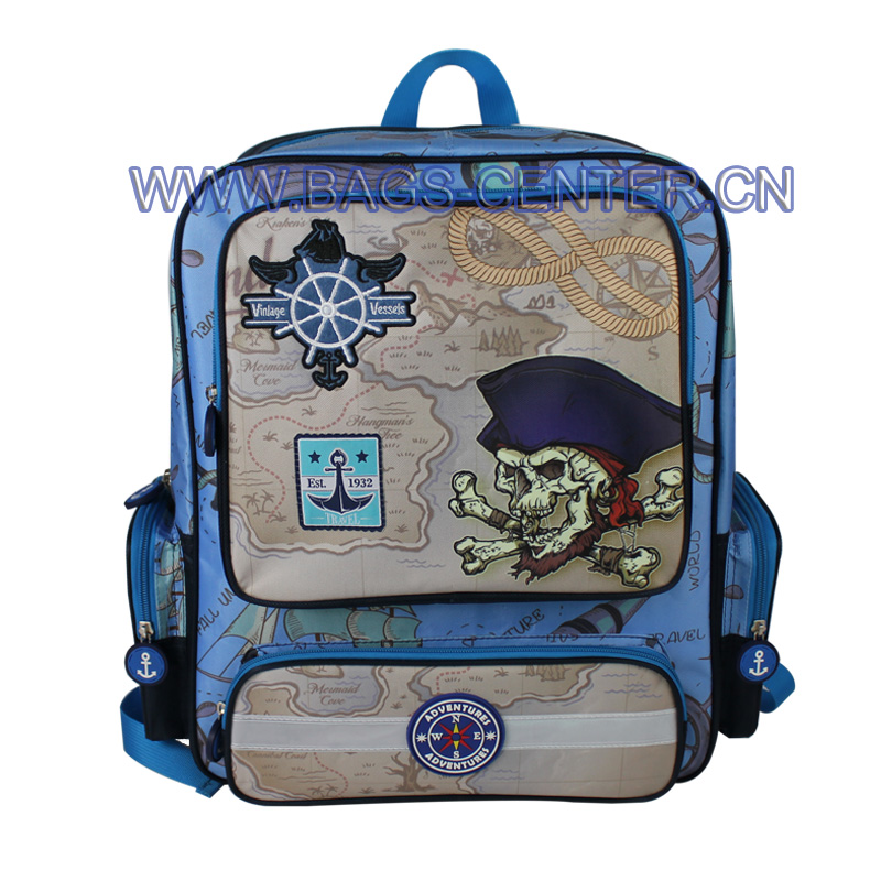 Pirate Exploration Kids Backpack ST-15VV01BP