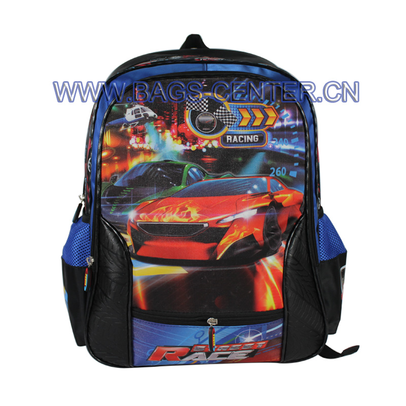 PVC Embossed Car Backpack ST-15SR02BP