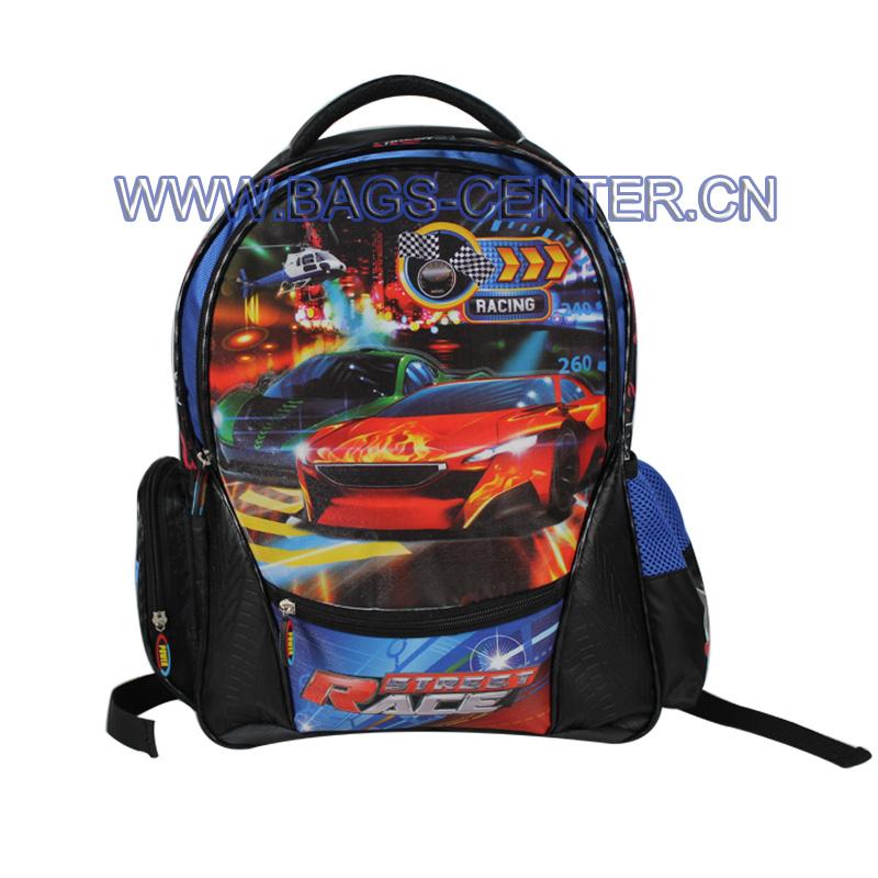 Jacquard School Bag for Children ST-15SR03BP