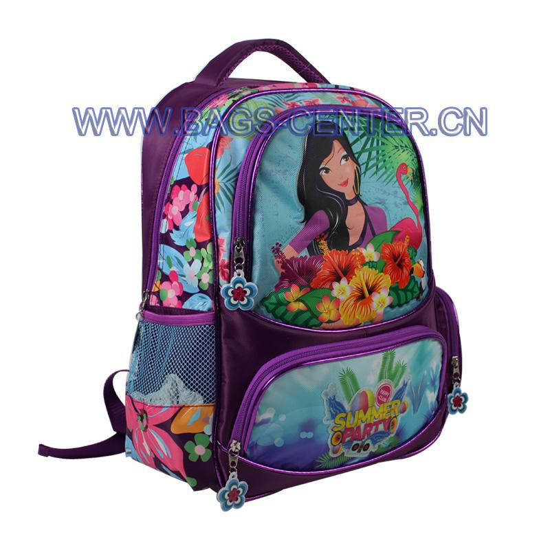 Fashion Girl School Backpack ST-15SM03BP