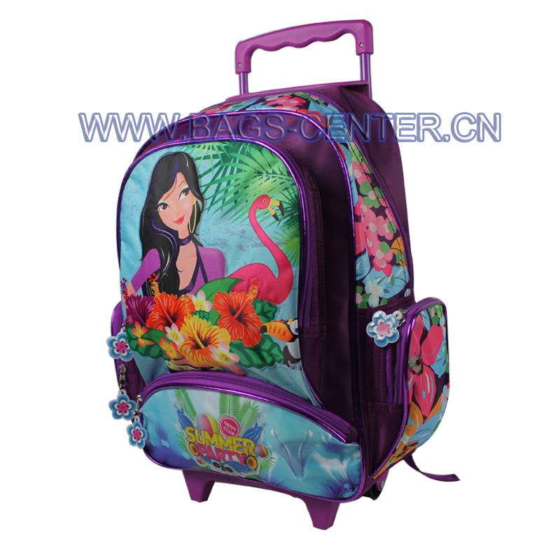 Student Trolley School Bag ST-15SM06TR