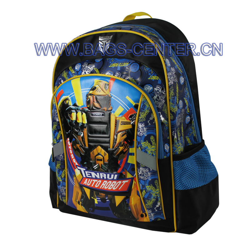 Twill Fabric and  Jacquard Backpack ST-15TA02BP