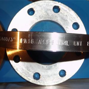 UNI2278-67 Плоские Фланцы, ASTM A182, DN 80, PN 16